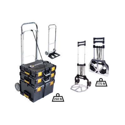 Flexible hand trolleys for CROM-BOX